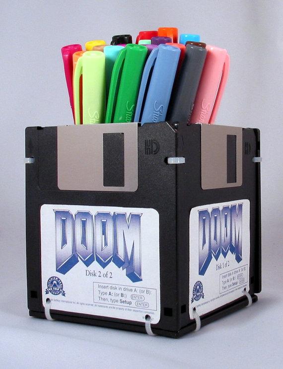 Doom Pen & Pencil Holder