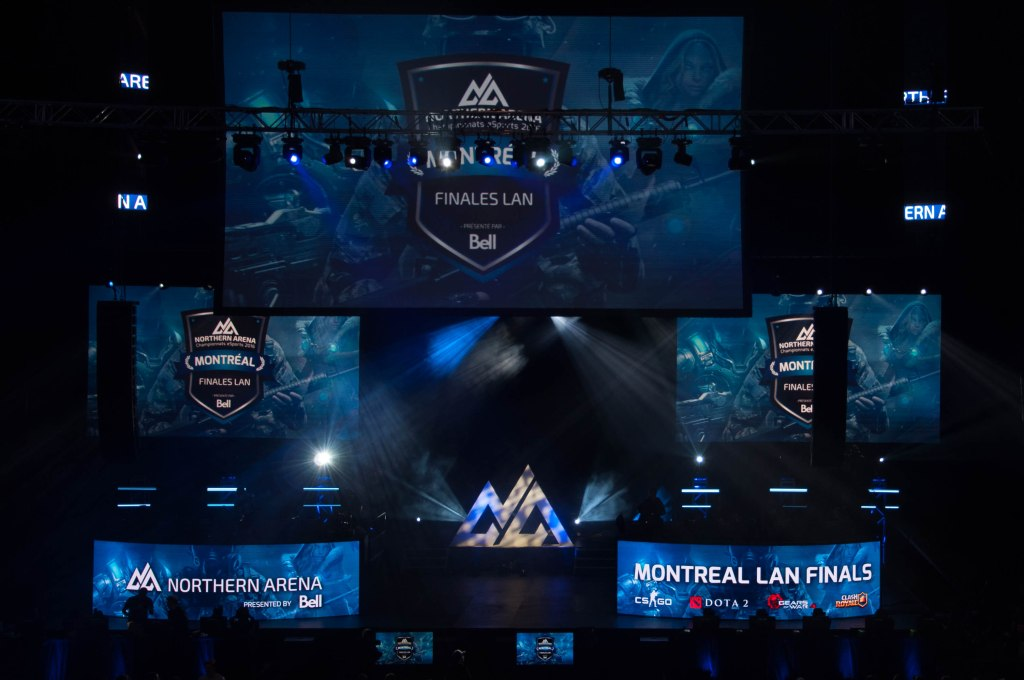 Northern Arena Montreal LAN Finals