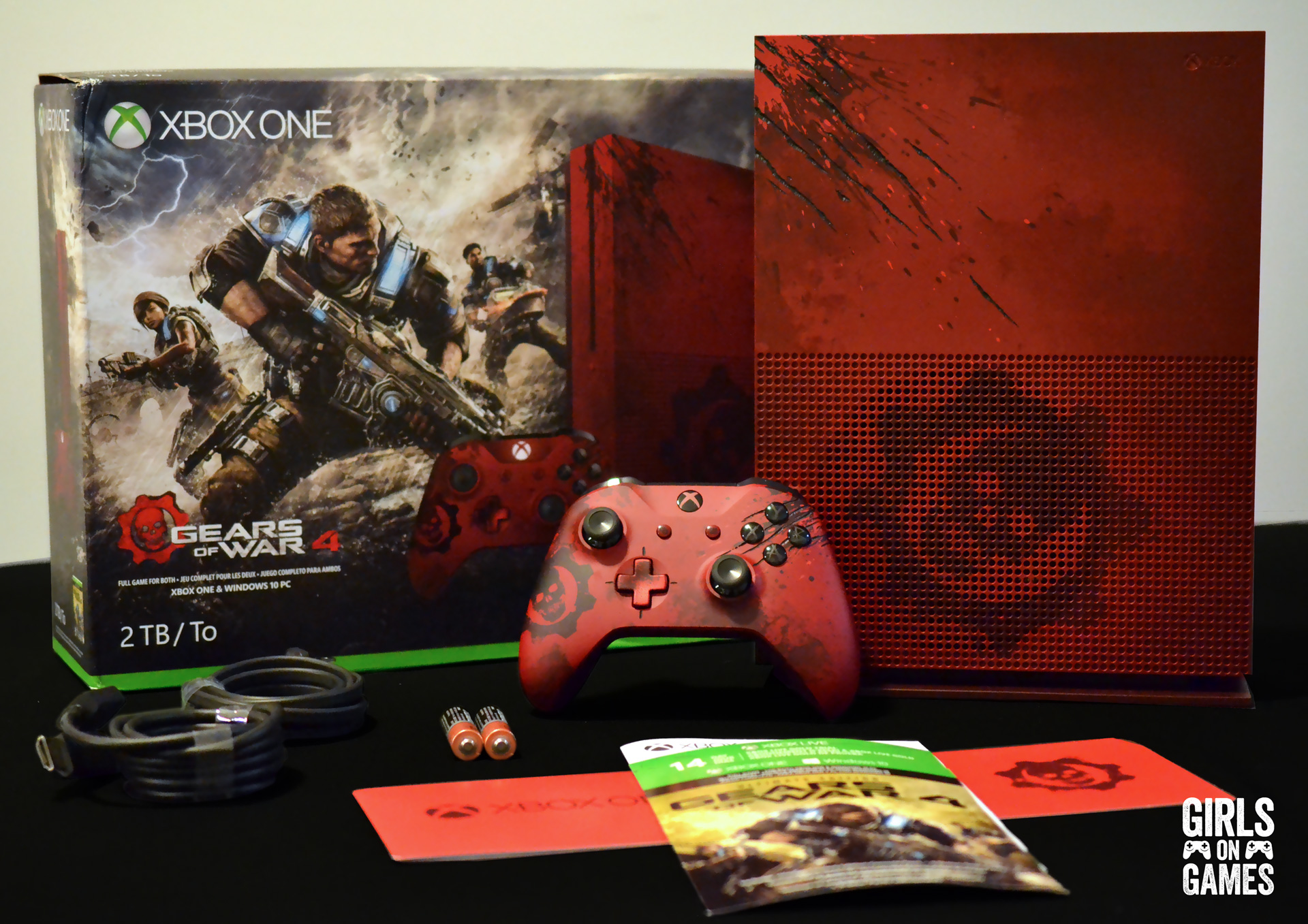 Unboxing The Xbox One S Gears Of War 4 Limited Edition Bundle