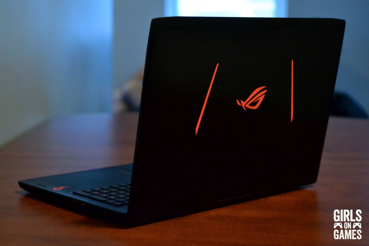 ASUS ROG STRIX GL502 Gaming Notebook back