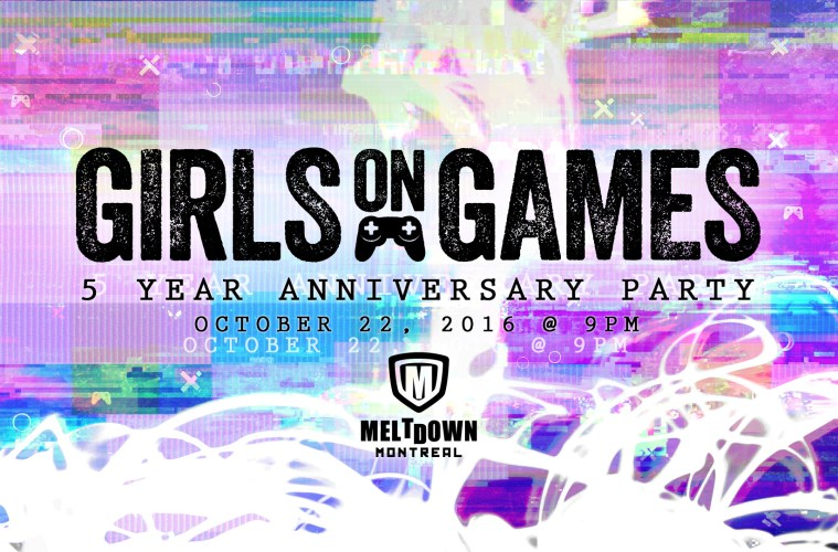 Girls on Games 5 Year Anniversay Party