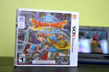 Dragon Quest VIII: Journey of the Cursed King on 3DS