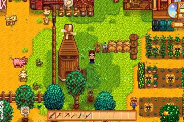 My second farm in Stardew Valley (via Girls on Games)
