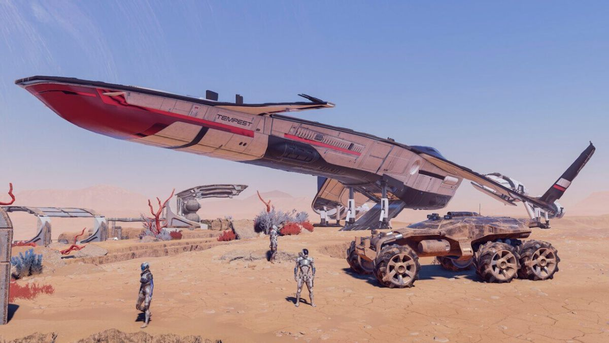 Mass Effect Andromeda Vehicles