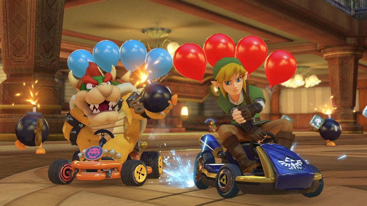 Mario Kart 8 Deluxe screenshot from Nintendo