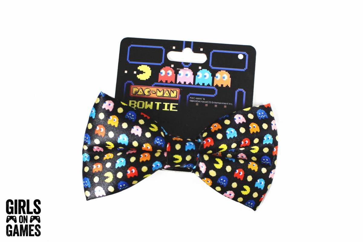 Pac-Man Bow Tie