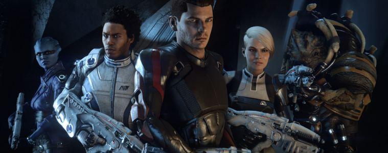 Mass Effect Andromeda crew