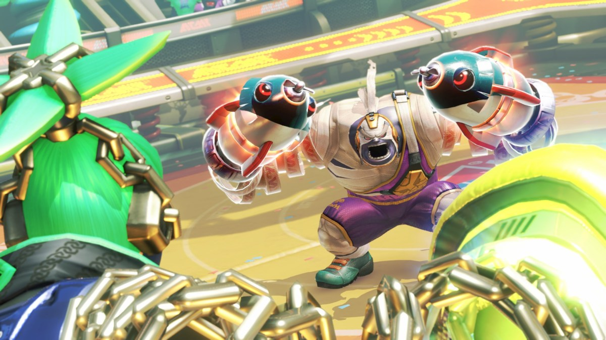 ARMS for the Nintendo Switch screenshot. Image from Nintendo