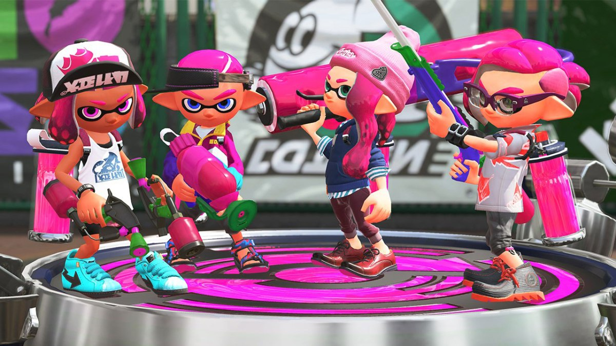 Splatoon 2 Inkling Team. From Nintendo