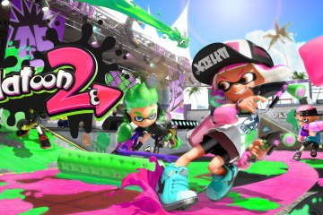 Splatoon 2 hero shot. From Nintendo