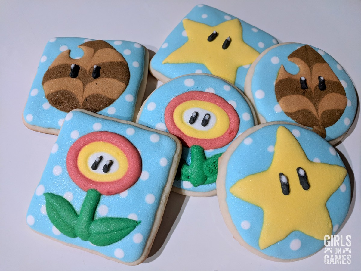 Power-up Sugar Cookies