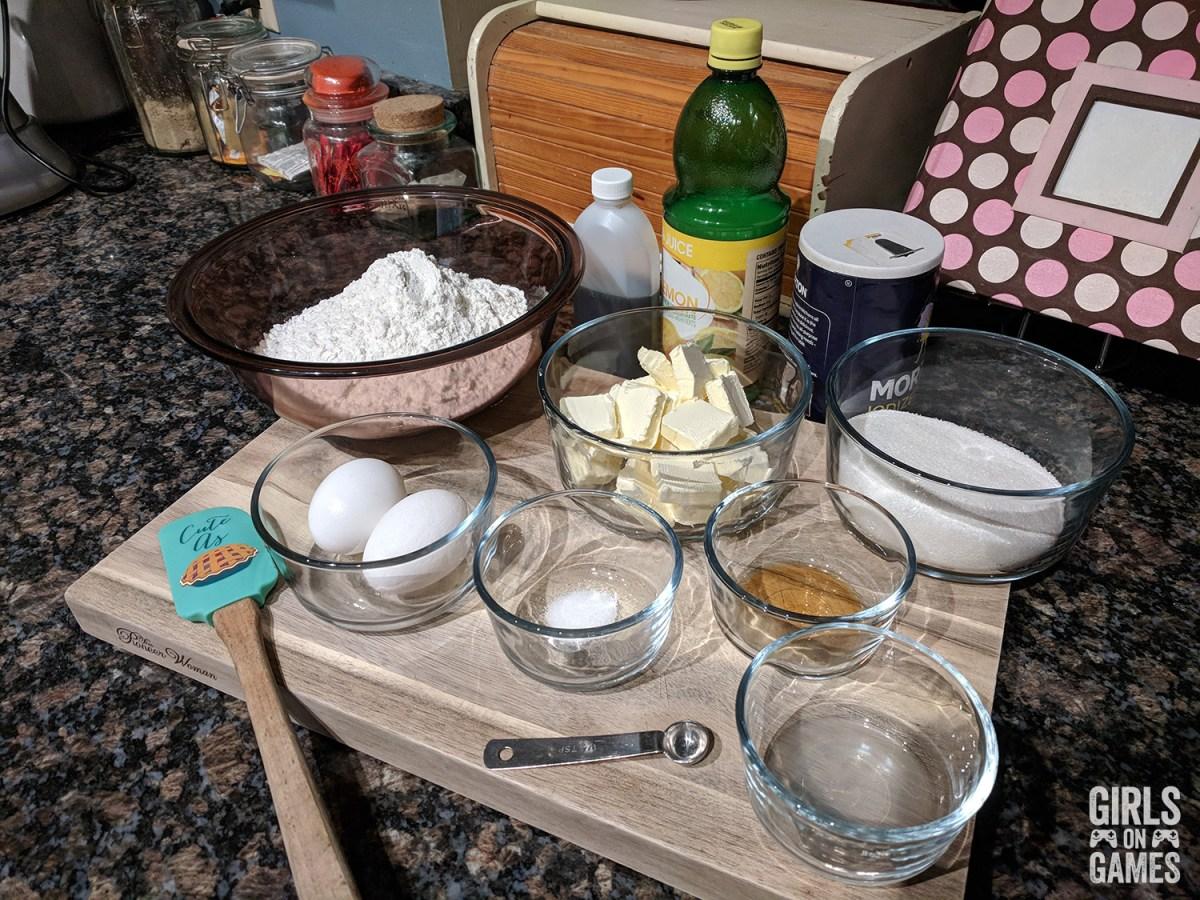 Power-up Sugar Cookies Ingredients