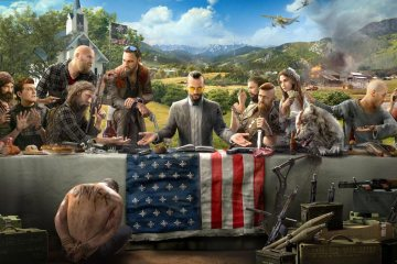Far Cry 5 Keyart (via Ubisoft)