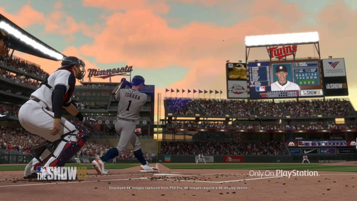 MLB The Show18 Screenshot (via PlayStation)