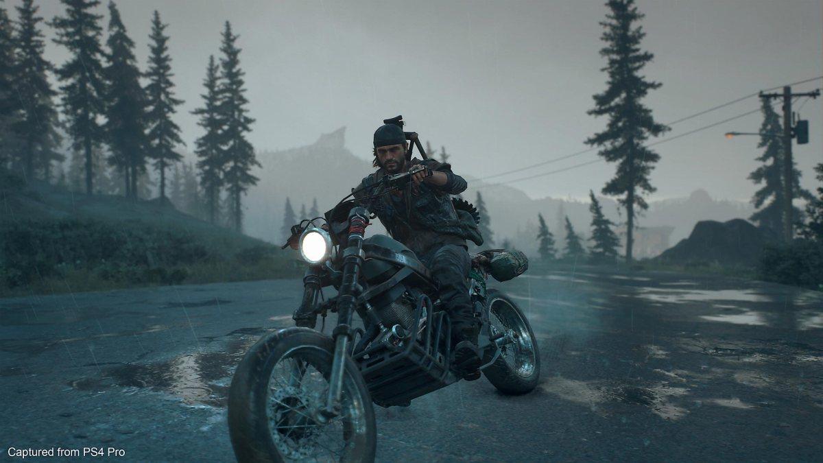 Days Gone, Deacon on his bike