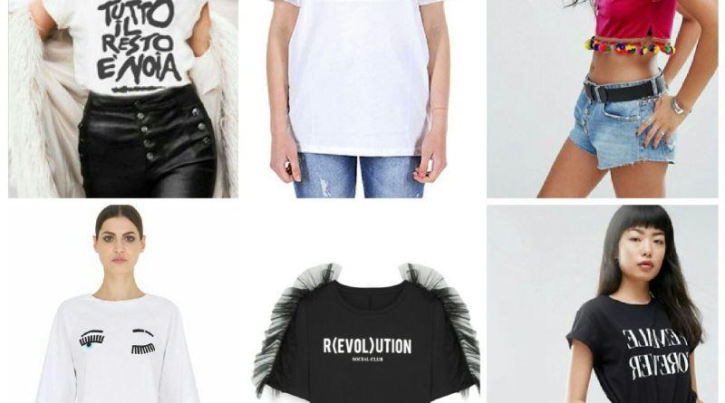 T-shirt ! Le piu' belle dell' estate? Eccole!!!