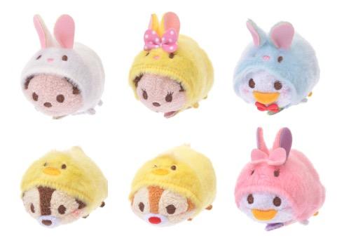 可愛到自動掏荷包!東京迪士尼推出「復活節系列」限定娃娃,穿上兔寶寶裝萌度再升級!