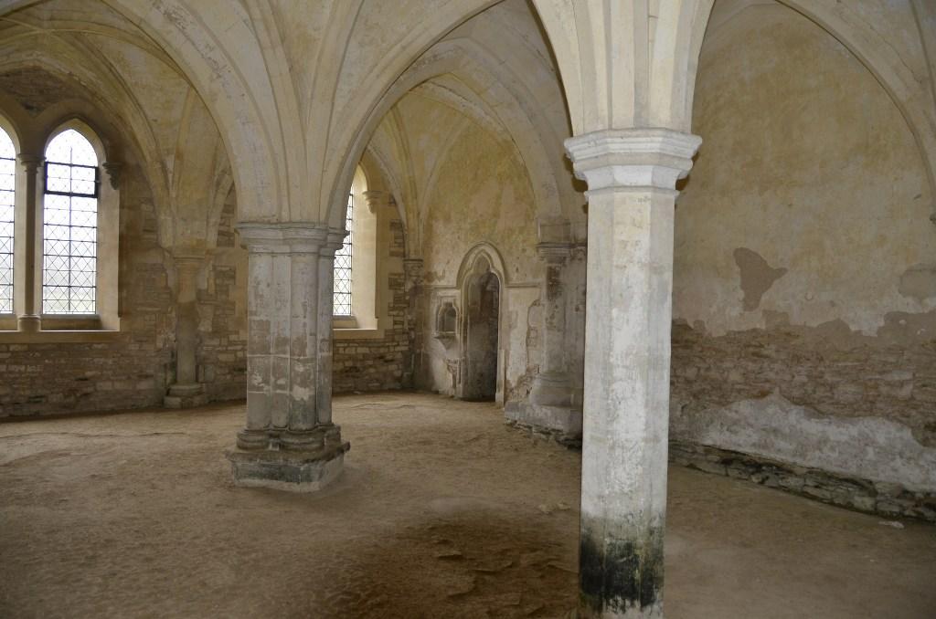 Lacock Abbey as a Hogwarts classroom