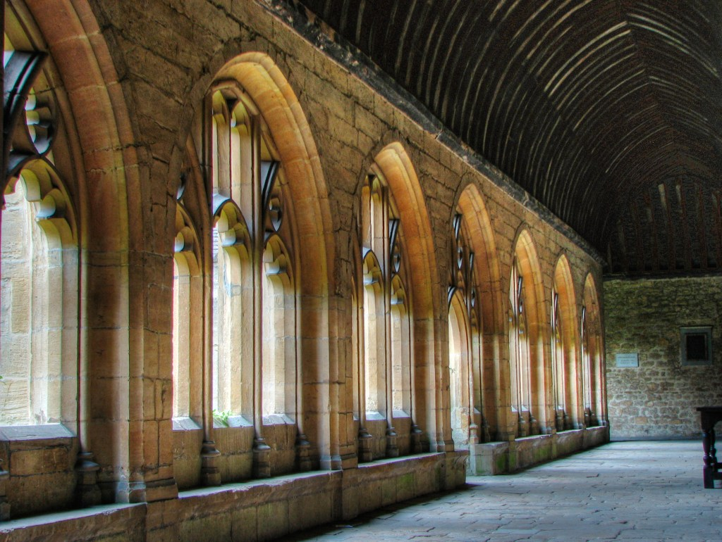 New College Cloisters as Hogwarts