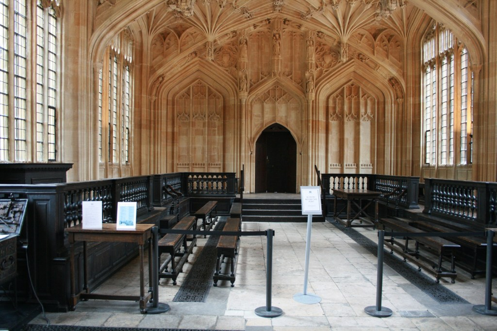 Divinity School at Bodleian Library Oxford