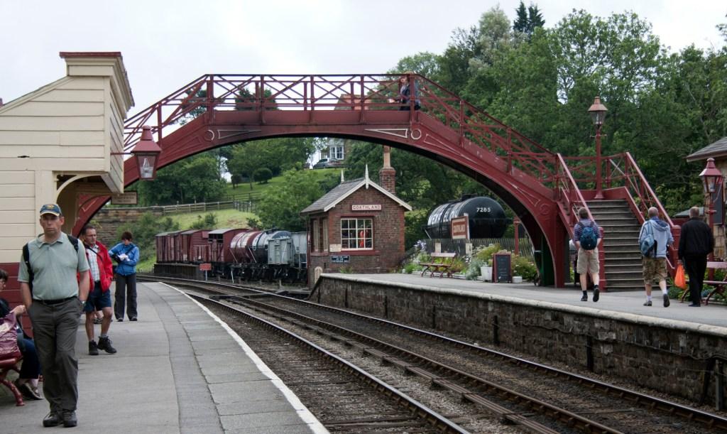 Hogsmeade Station aka Goathland Station, Yorkshire
