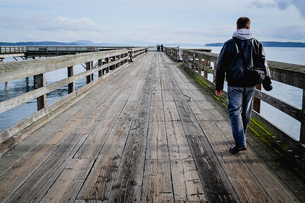 Sidney Boardwalk Vancouver Island