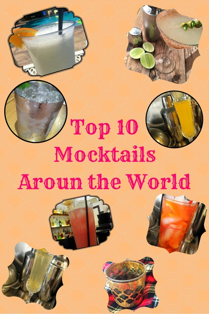 Top 10 Mocktails from Around the World