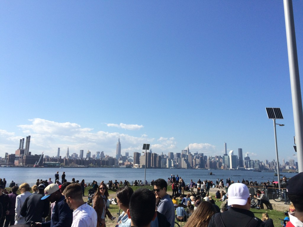 smorgasburg, view of New York
