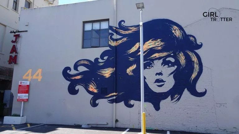 Street art à Wellington - Girltrotter