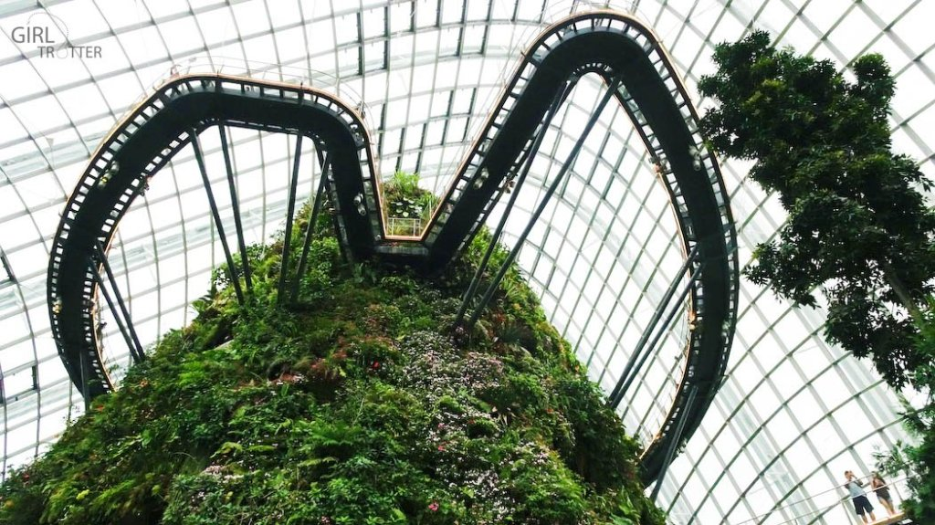 Les passerelles suspendues de The Clouds Forest - Gardens by the Bay - Singapour - Girltrotter