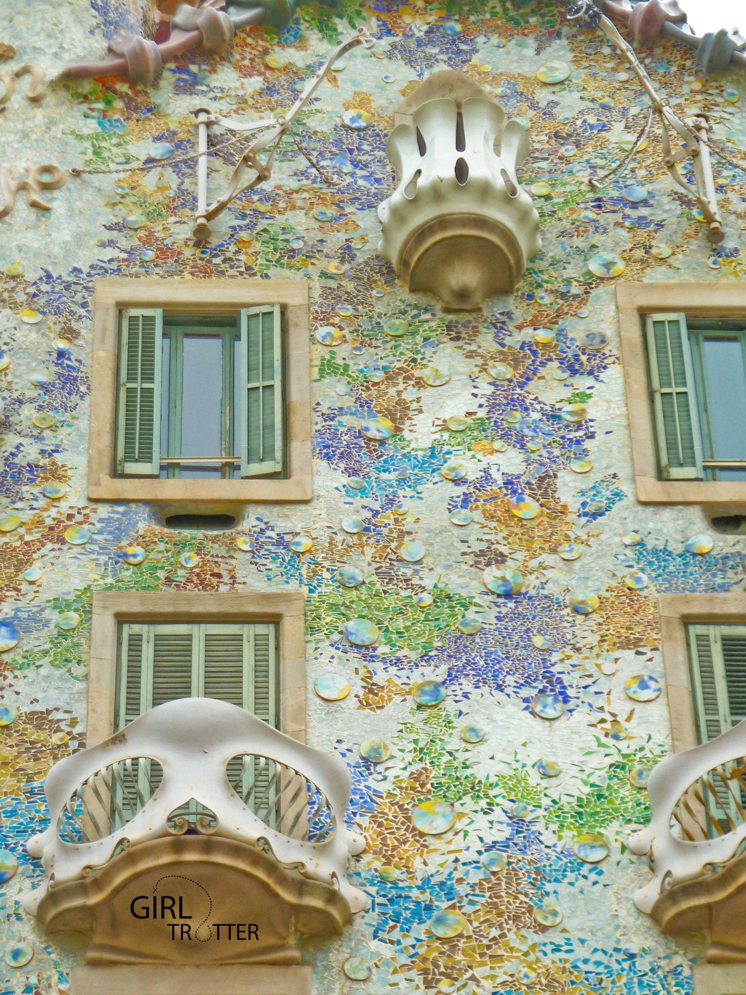 La casa battlo de Gaudi a Barcelone by Girltrotter