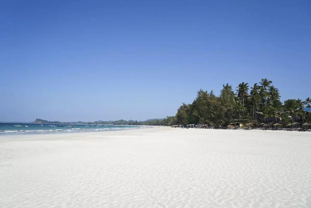 Plage Ngapali Beach - Myanmar Birmanie