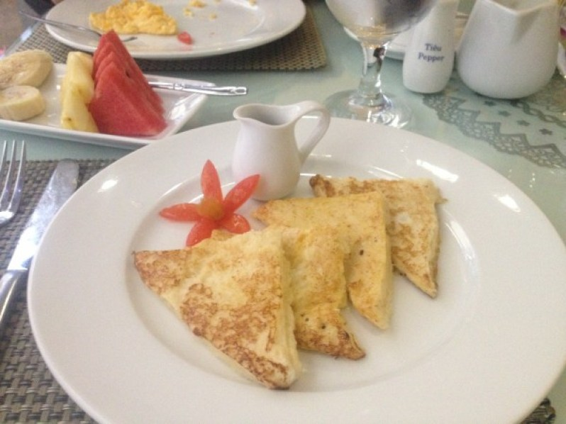 Breakfast at Hanoi Elite