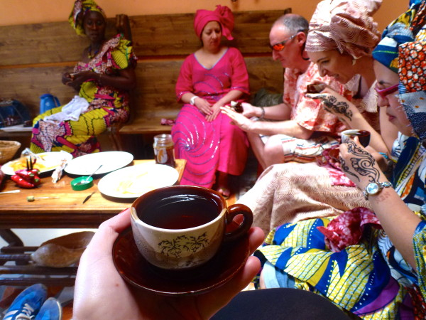 Gambian cooking