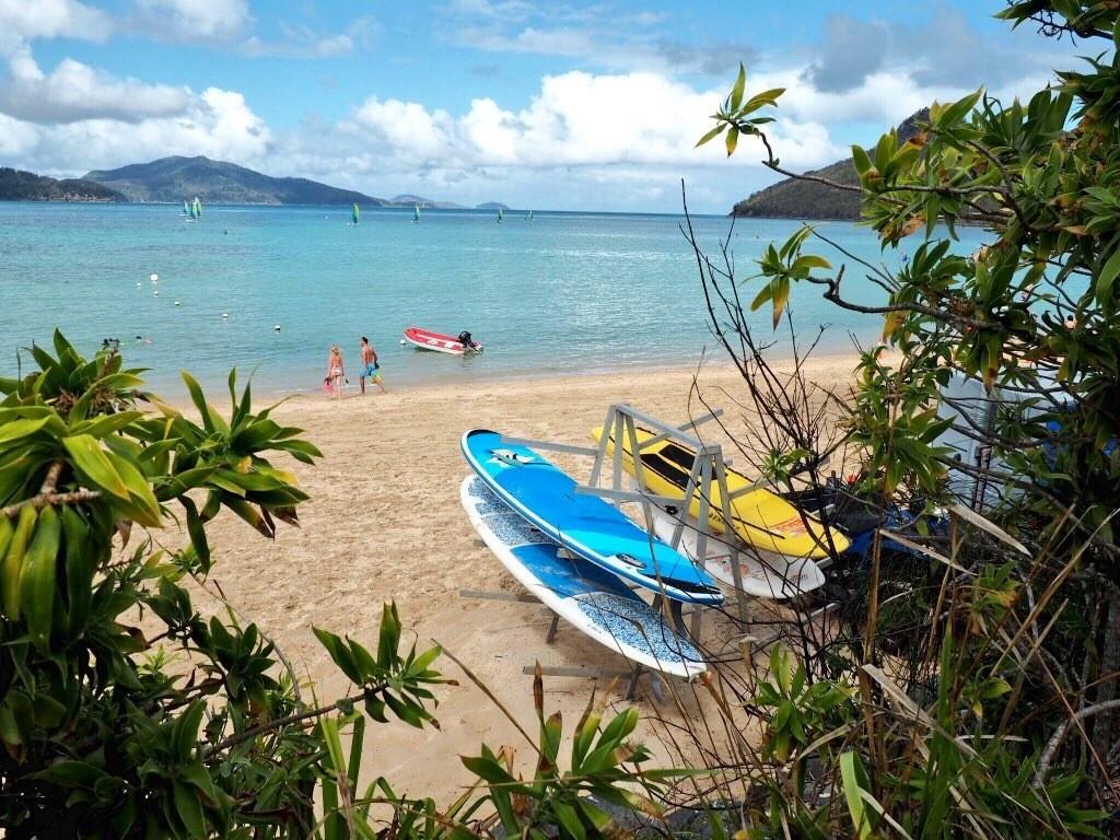 Watersports on Catseye Beach