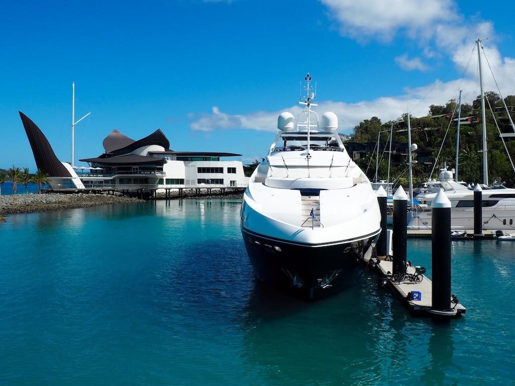 The striking Yacht Club