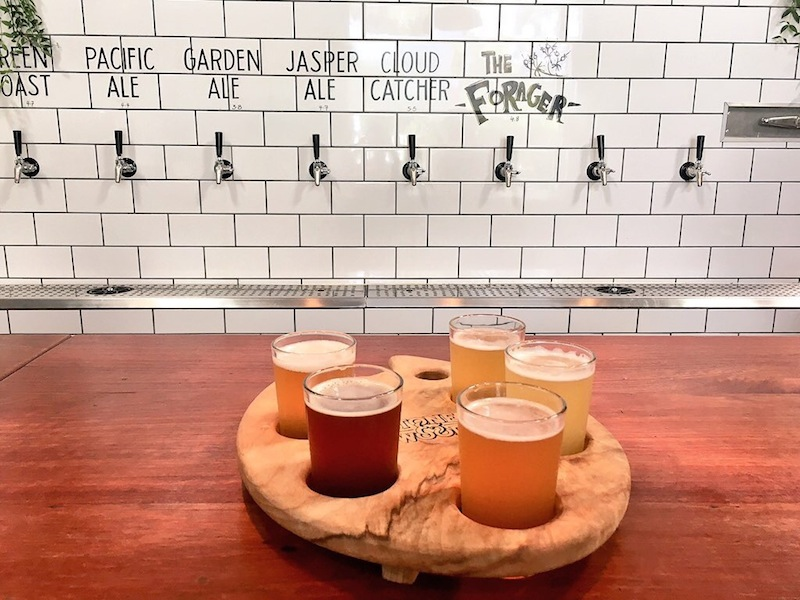 Beer tasting paddle just $10 at Stone & Wood.