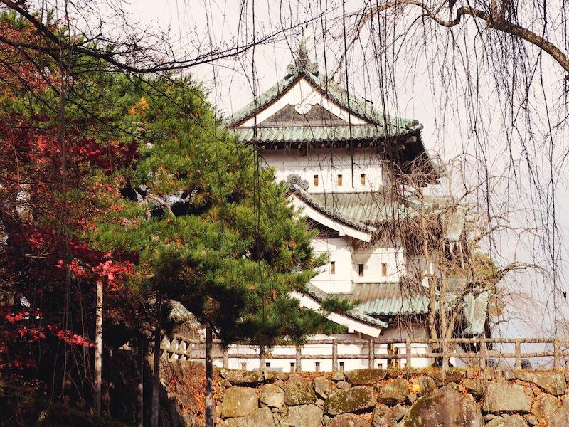 Travelling in Tohoku Region Japan - Hirosaki Castle