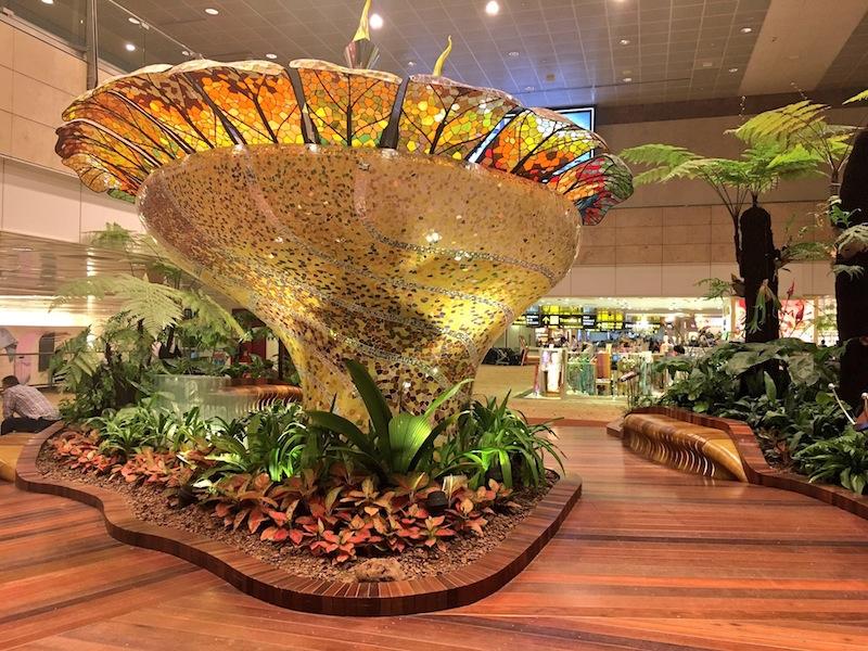 Enchanted Garden at Terminal 2