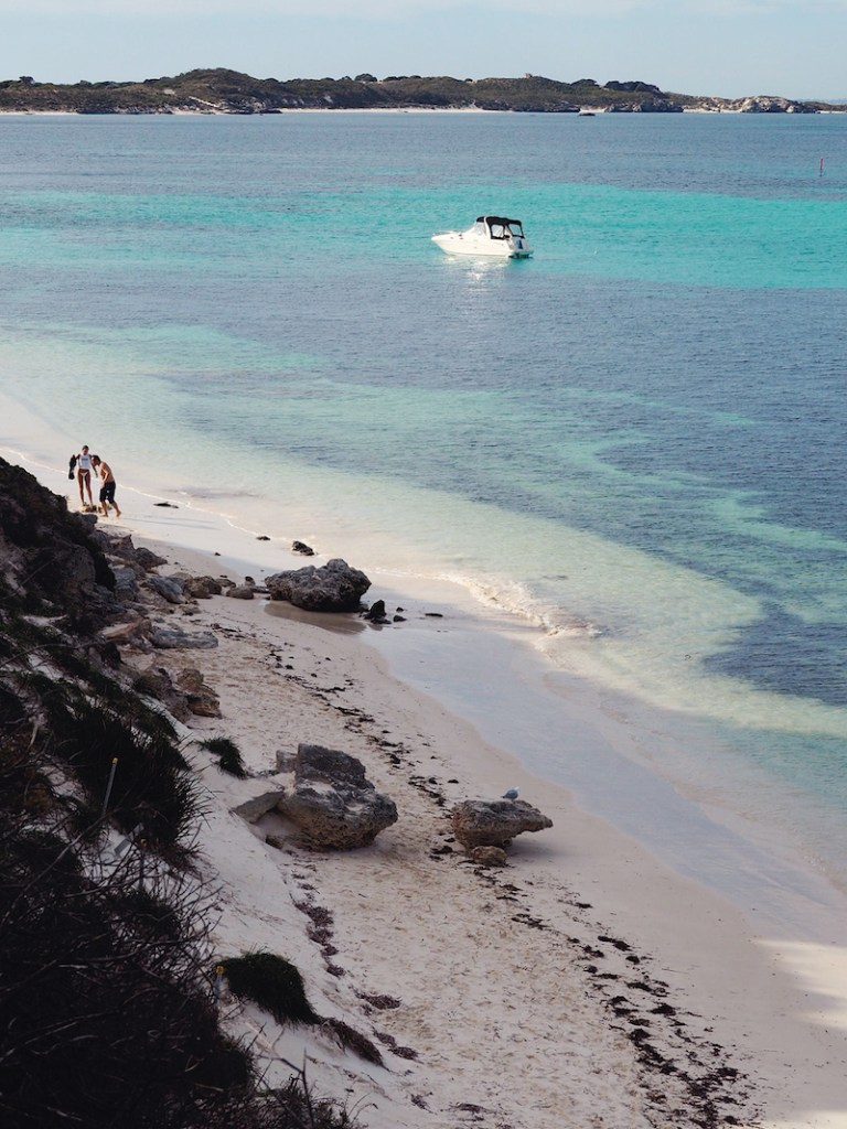 Gorgeous bays and beaches at every turn on Rottnest Island