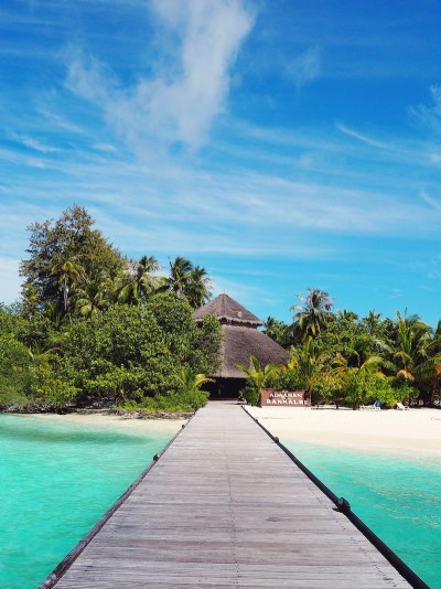 Arriving at Adaaran Club Rannahli Maldives