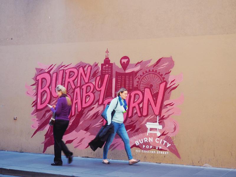 Burn City street art