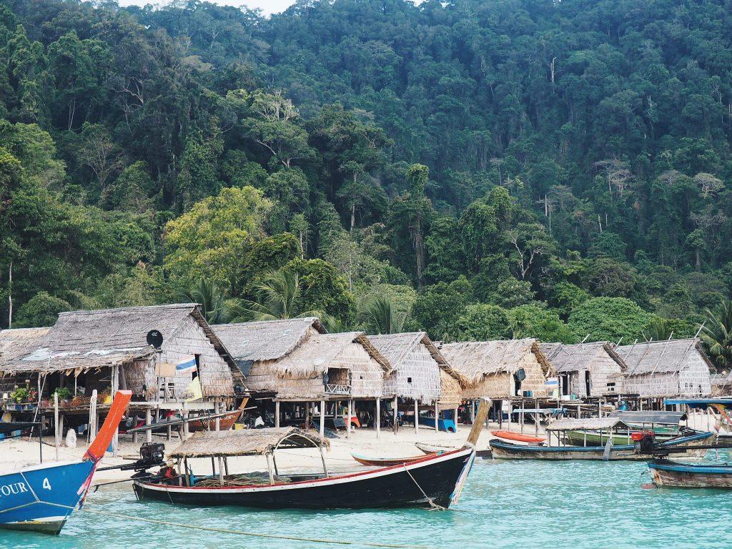 Visiting a Moken Village in the Surin Islands