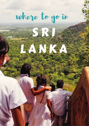 where to go & what to see in sri lanka