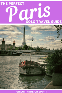 Solo travel in Paris, France can be a bit of a challenge since Paris is known as the romance capital of the world. But between the picturesque neighborhoods, the exciting museums (like the D'Orsay), the exquisite churches (like Notre Dame) and the enchanting Seine river, there are plenty of Paris, France things to do for the solo female traveler. #Paris #France #travel #solotravel #Europe