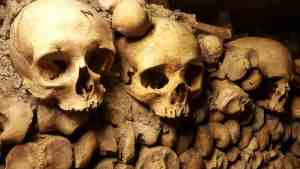 The skull lined walls of the Catacombs put the creep in creepy.