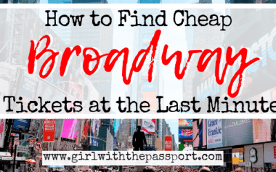 How to Get Cheap Broadway  Tickets at the Last Minute
