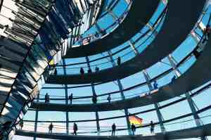 The Reichstag is home to the German parliament and is the perfect fusion of modern and historic architecture.