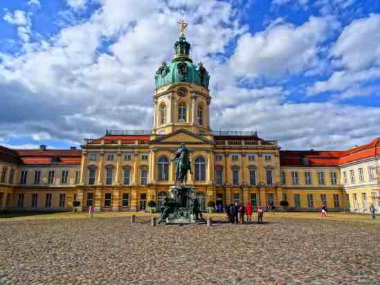Charlottenburg Palace is an amazing place for any solo traveler in Berlin.