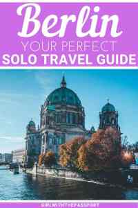 Planning some solo Berlin travel and have no idea where to go or what to do? Then read on to discover what to do by yourself in Berlin, including some amazing things to do alone in Berlin at night, and where to eat when you travel to Berlin by yourself. I promise, with all the things to do in Berlin, you'll have the time of your life. #Berlin #travelguide #Germanytravel #solotravel #Berlintravel